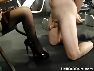 Tied And Punished By A Dominatrix