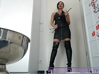Asian Mistress PornbabeTyra hard humiliation and domination