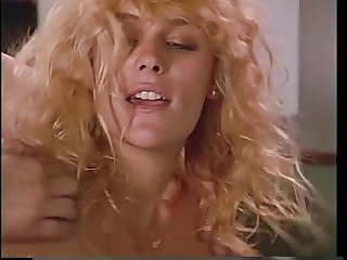 Blonde sucks and gets dp'd by two guys