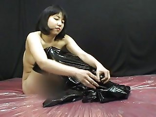 Japanese Latex Catsuit 63