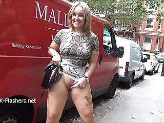 Ashley Riders public flashing and outdoor exhibitionism