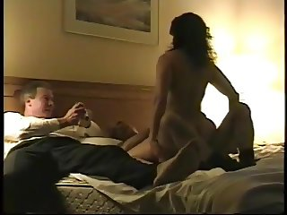 Wife rides hubby's friend