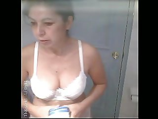 Sexy Wife Caught Naked after Bath
