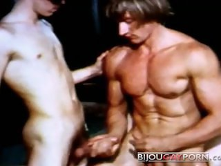 Muscular Jim Cassidy is Wrestled and Fucked