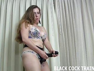 This big strapon will get you ready for a real cock