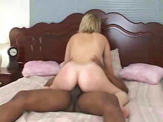 Hot blonde fucked in ass by BBC