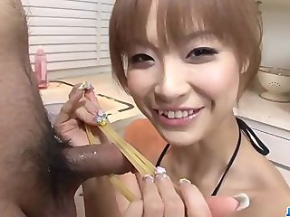 Amazing blowjob scenes along Misa Kikouden