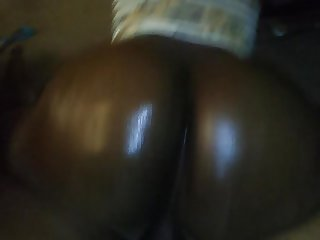 Oiled phat booty