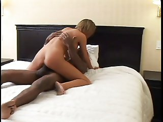 Hot interracial sex with white girl