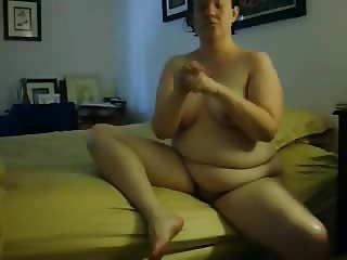 Hot mum caught masturbating on bed by hidden cam