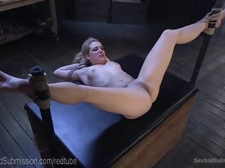 Club Slut Blows And Fucks Door Man