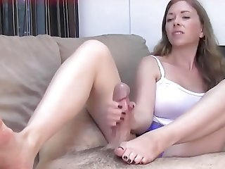 Handjob for NOT brother