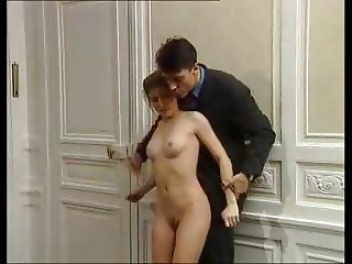 Petite stepdaughter Fucked By stepdad And Friend !
