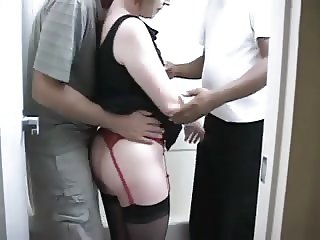 Amateur MMF IR threesome