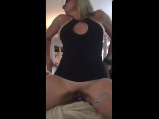 Wife and mom of three having a real cum