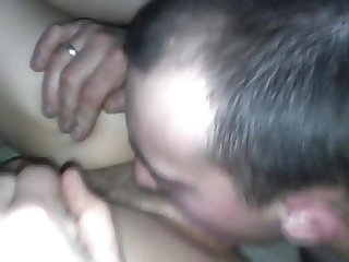 sex after a party at the home of a friend