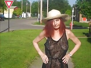 Four Public Flashing (Redhot Redhead Show compilation)