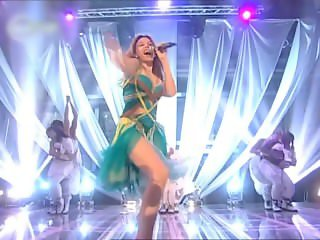 Kylie Minogue - I Believe In You (no panties, slow motion zoomed)