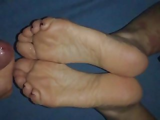 Friend cum soles feet