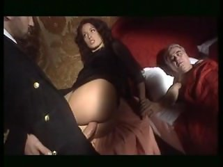 Milf fucks with another front of husband