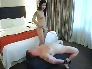 Punishment by Asian Dom