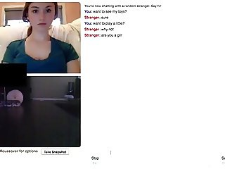 Gorgeous slave teen on omegle