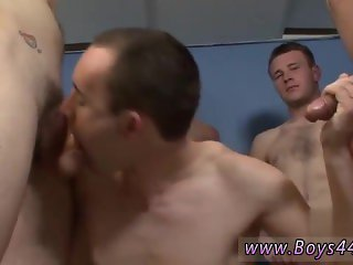 Guide to gay gang bang first time Ricky is an adventurous lil' minx, both