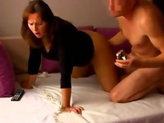 Sexy Russian MILF With Big Booty Fucked