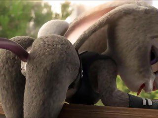 [Zootopia Porn Parody] Judy Hopps fucked by Tentacle Monster (with Sound)