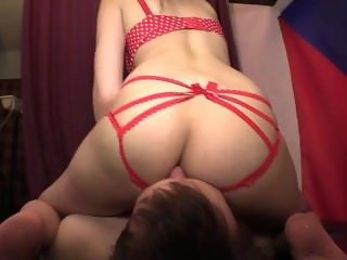 Red Lingerie Smother