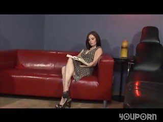 Pale Brunette Fucked By A Group Of Black Guys