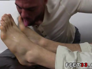 Foot younger gay sex movie KC's New Foot & Sock Slave