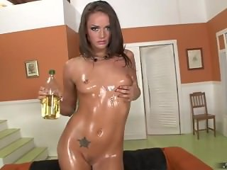 OILED TORI BLACK FUCKED BY BLACK COCK