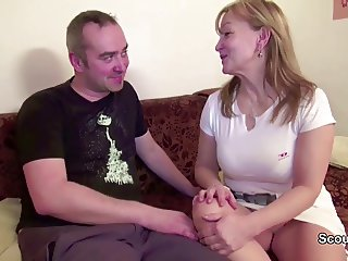 not mom and not dad Real Porn Casting to Earn a little Money