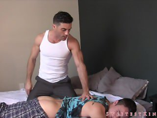 Spanked by Step Dad - Lance Hart and Tristan Sweet