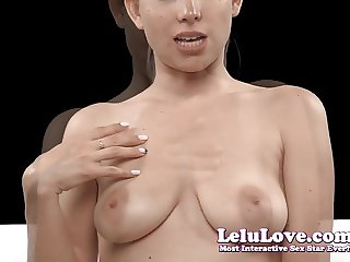 Lelu Love-Just Boobs Jerkoff Encouragement