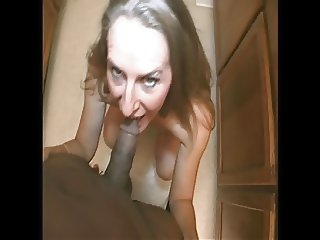 TheShimmyShow - Monday morning milf blowjob ft. Sara James