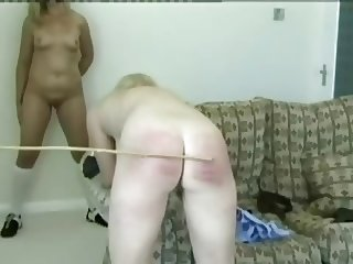 Blond Sisters Spanked Again