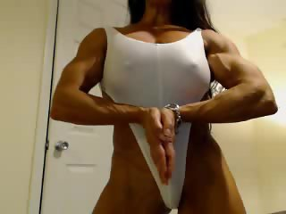 Denise Masino Webcam 03 - Female Bodybuilder