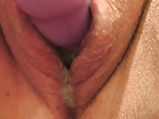 (f) up close chubby 19year old virgin uses a vibrator