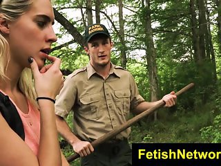 TeensInTheWoods Goldie Rush extreme bdsm