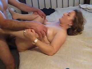 my slut wife loves fucking hard cock he pounds her pussy hard and makes her