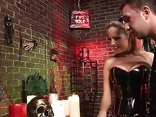 Sexy Keiran Lee can handle the master and the sex slave's cock