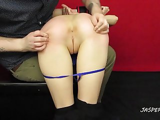 older stranger spanks amateur girlfriend