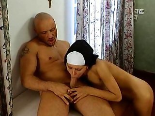 Sarah Nice punishment busty nuns