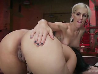 Erotic She-demon with Cock Fucks Penny Barber to strike a deal