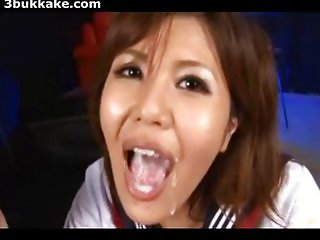 Japanese Bukkake Facials Compilation 152010