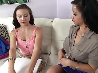 She is Seduced by a Asian Cougar.