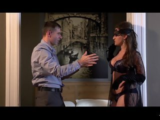 XXX Shades - Hot Czech babe ties him up in erotic sex session