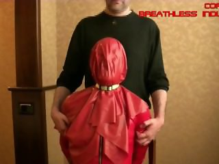 Breathless Industries Preview - Shiny Red Latex Sheet